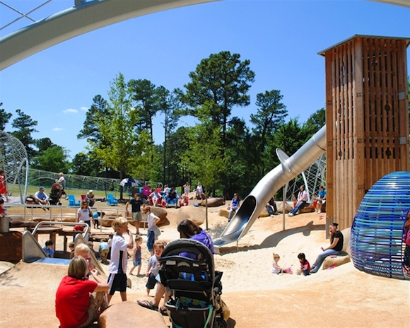 Shelby Farms Park Playground Gets National Attention